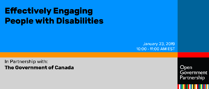 Effectively Engaging People with Disabilities