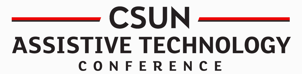 CSUN Assistive Technology Conference 2019